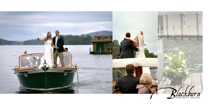adirondack mountain summer wedding photos