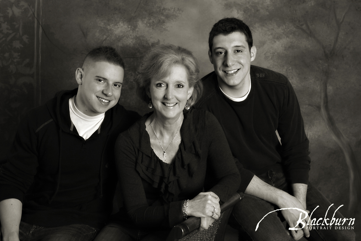 Family Portrait Photograph Saratoga