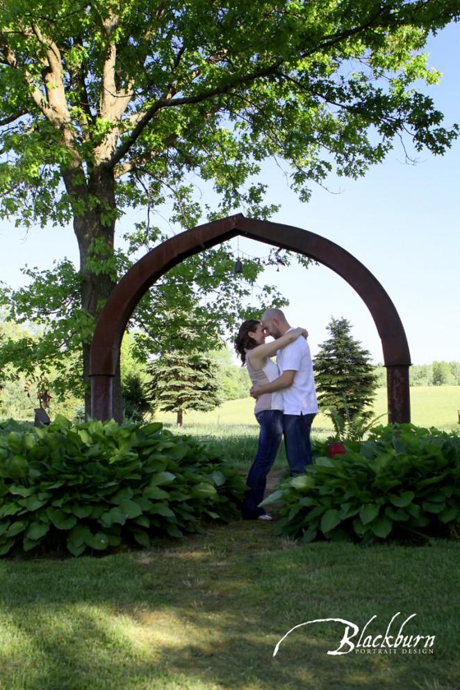 Saratoga Engagement Photos
