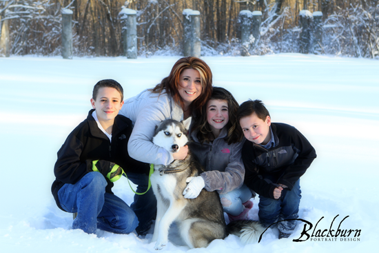 Snow Day Portraits Saratoga NY