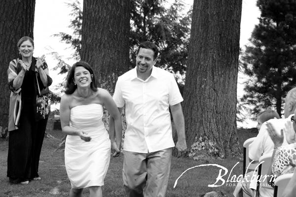 Adirondack Wedding Ceremony Photo
