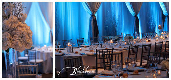 Winter Wedding Reception Saratoga
