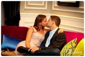 Romantic Pavilion Grand Hotel Engagement Photos