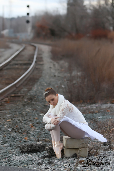 Winter Dance Portrait