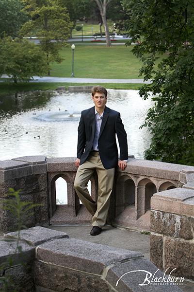 Congress Park Senior Portraits