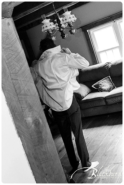 Groom getting ready photo albany ny