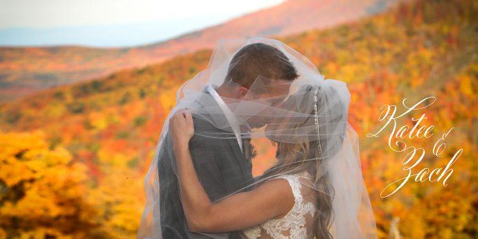 Upstate NY Mountain Wedding Photo