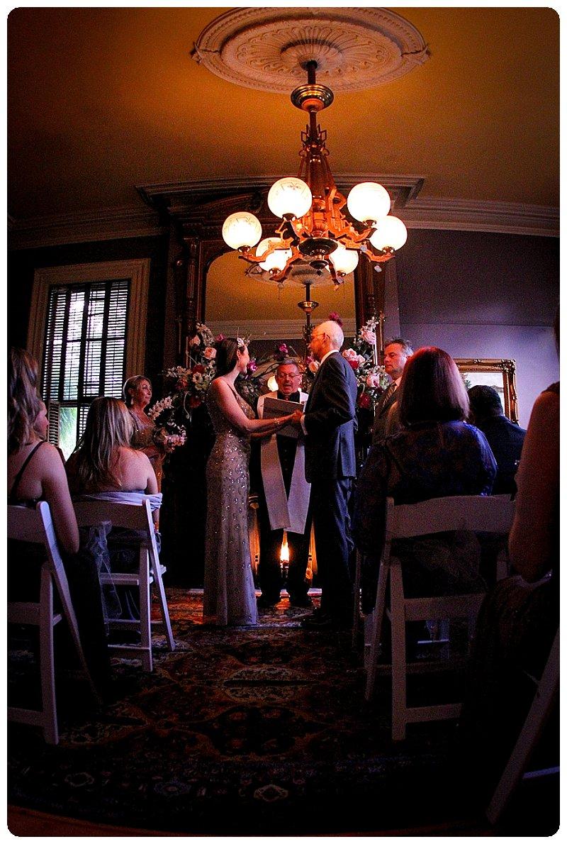Elegant elopement photos