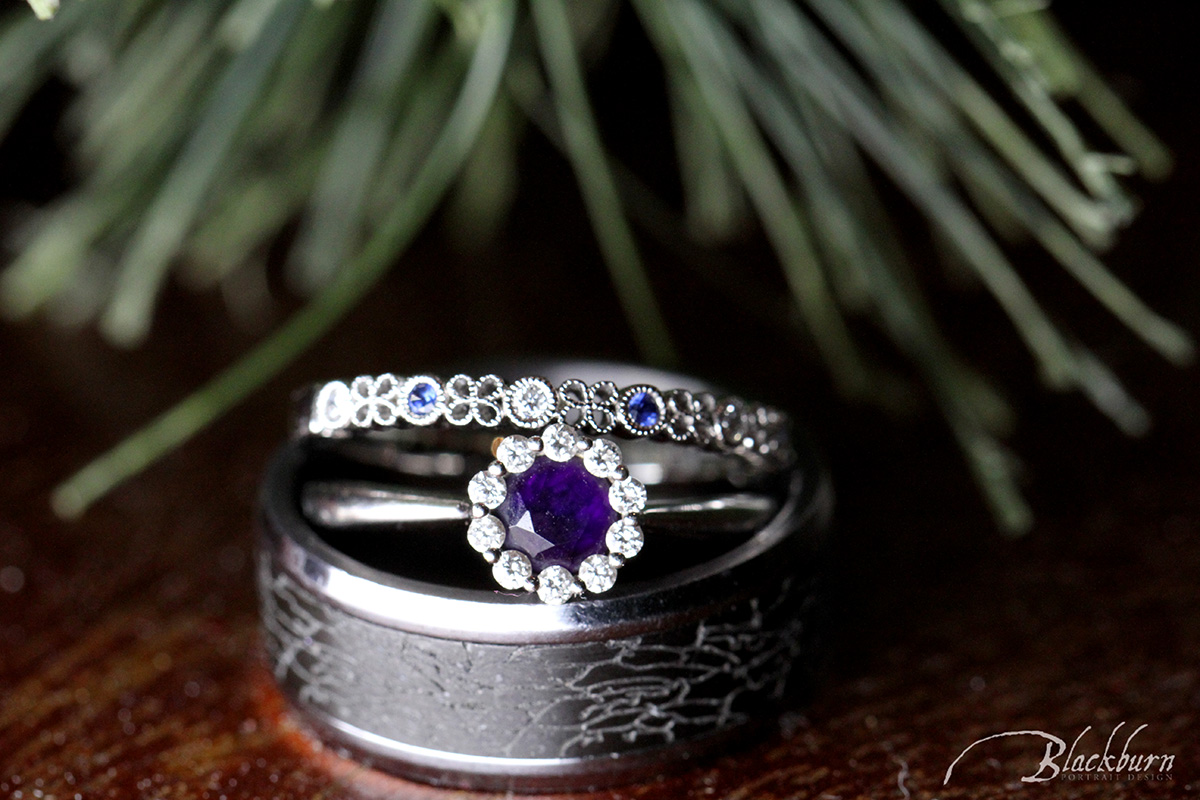 Sapphire Engagement Rings Photo