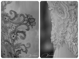 Wedding dress detail photos