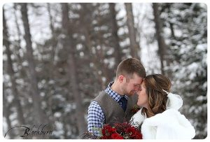Adirondack Winter Destination Wedding Photos
