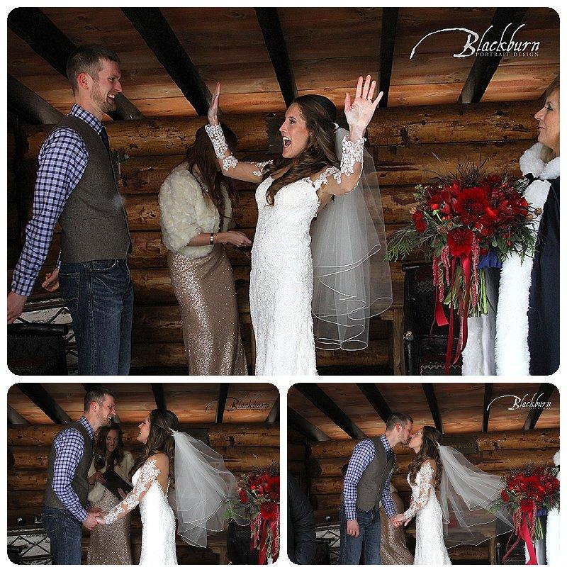 Whiteface Lodge Wedding Ceremony Photos