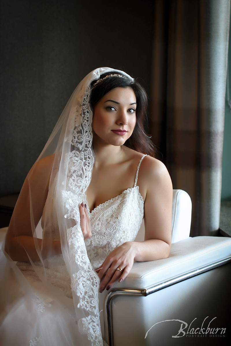 Saratoga Springs Embassy Suites Bride