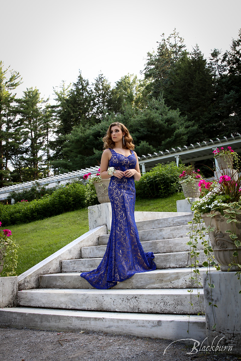 Prom Fashion Editorial Photo