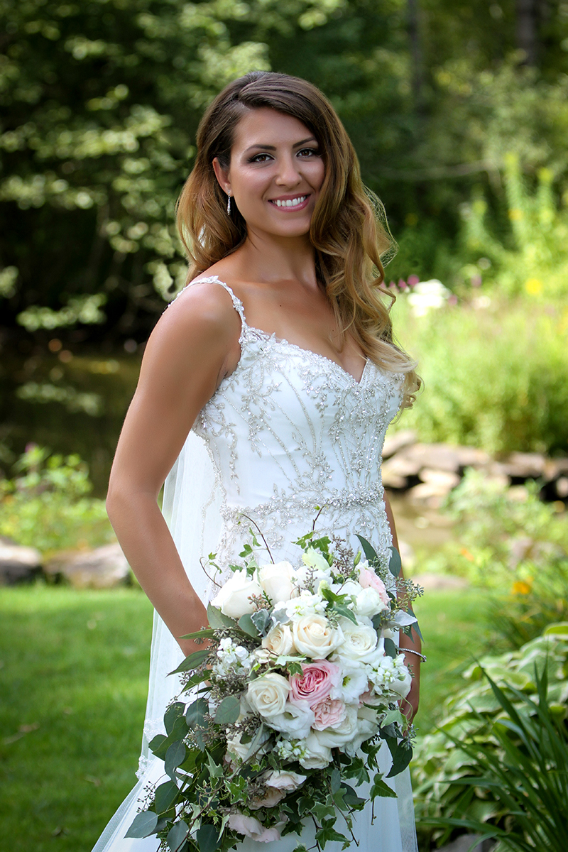 Mansion Inn Saratoga Bridal Photo