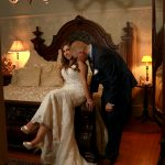 Winter Wedding Photos Mansion Saratoga NY