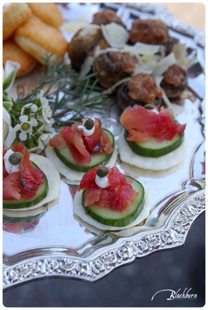 Barn Wedding Food