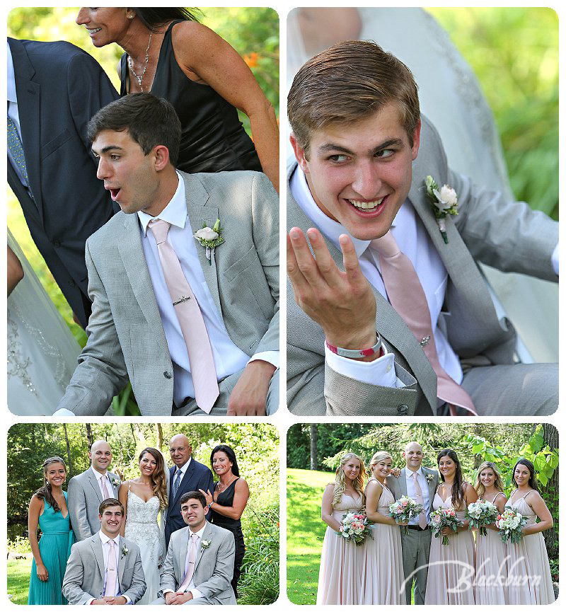 Fun Wedding Party Photos Saratoga Springs