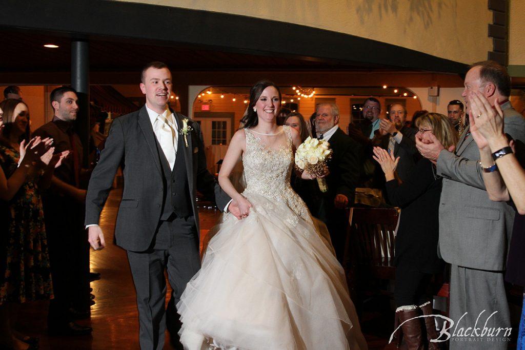 Longfellows Saratoga NY Wedding Reception Photo