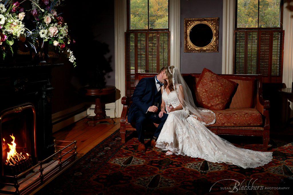 Upstate NY Fall Wedding Photo