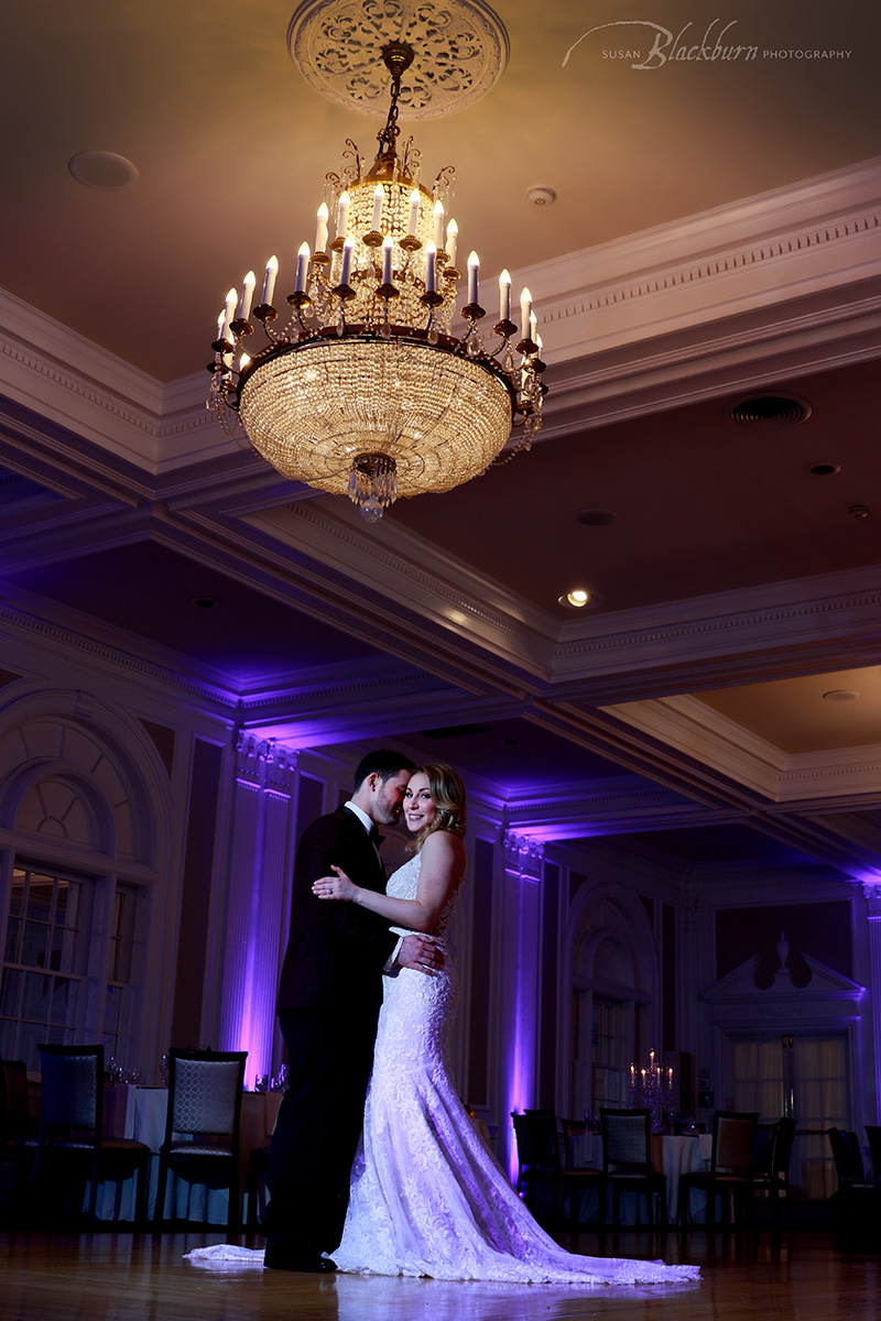 Queensbury Hotel Ballroom Wedding
