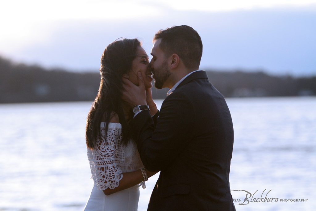 Saratoga Lake Surprise Proposal Photo