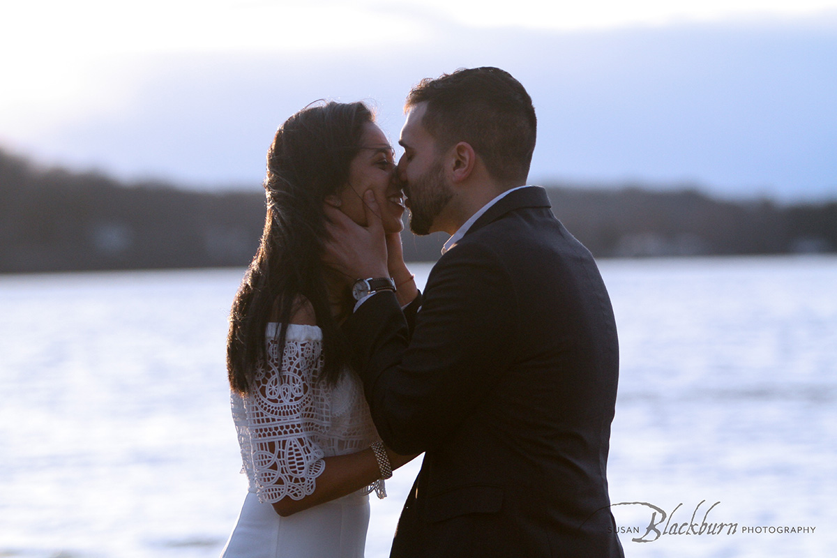 Saratoga Lake Surprise Proposal Photo
