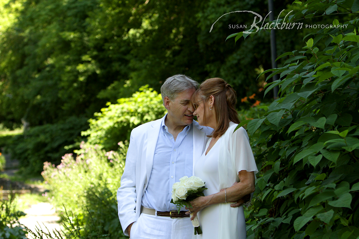 Summer Elopement in Saratoga Springs NY Photo