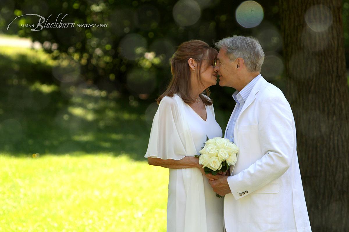Congress Park elopement Photo