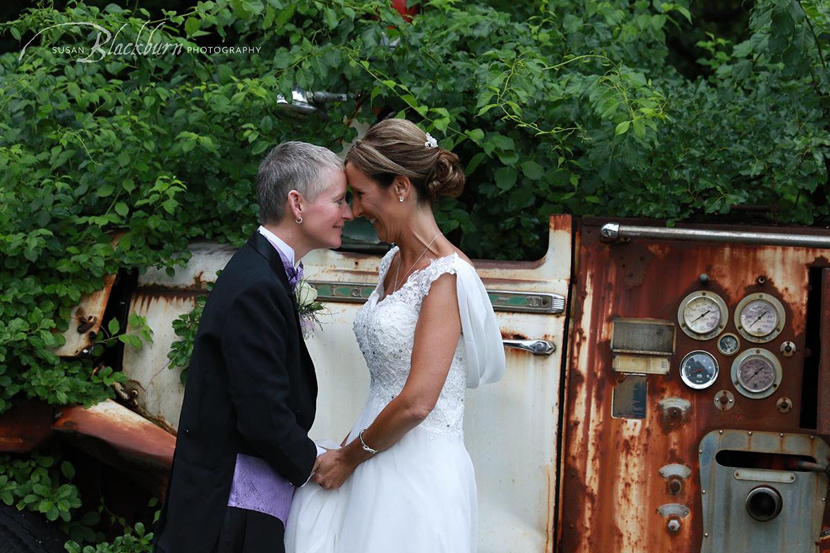 Same Sex Wedding at Saratoga Winery