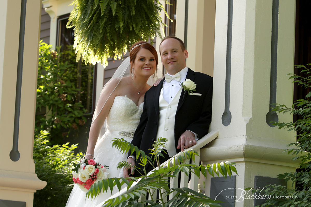 Summer Wedding Saratoga Mansion Wedding Photo