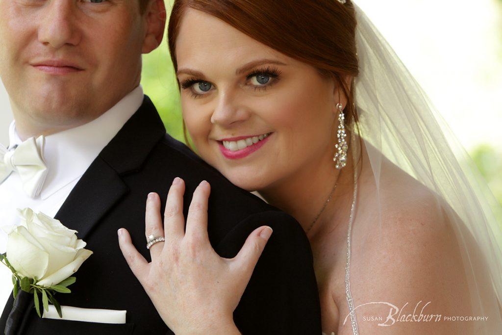 Summer Wedding Mansion Saratoga Photo