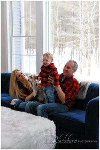 Lifestyle Family Portrait Session Saratoga NY