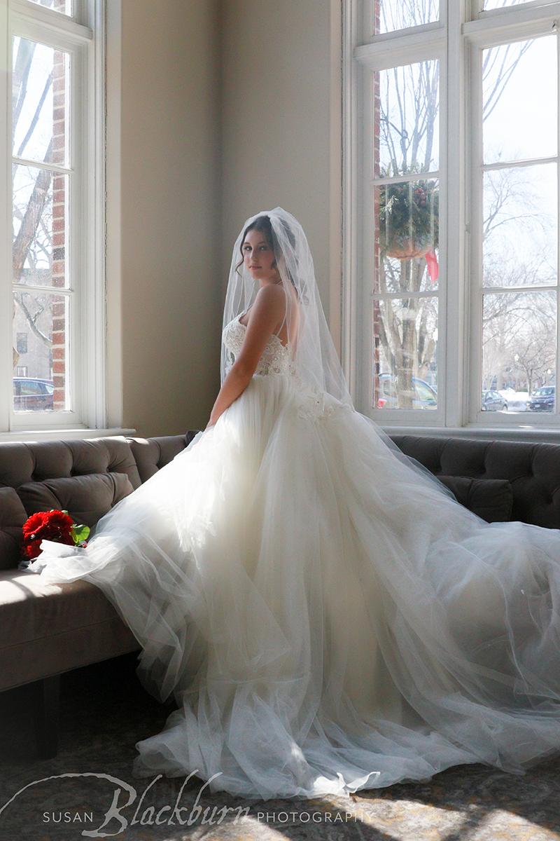 Bridal Portrait Queensbury Hotel