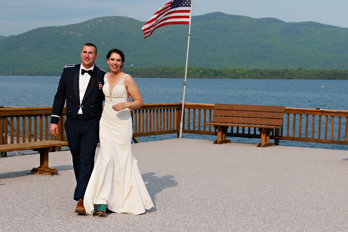 Canoe Island Lodge Destination Wedding Photo