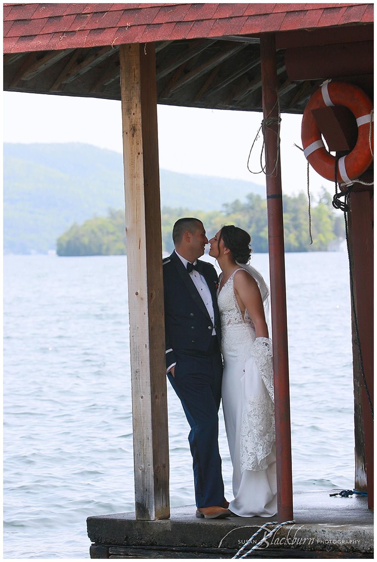Canoe Island Lodge Wedding Photo