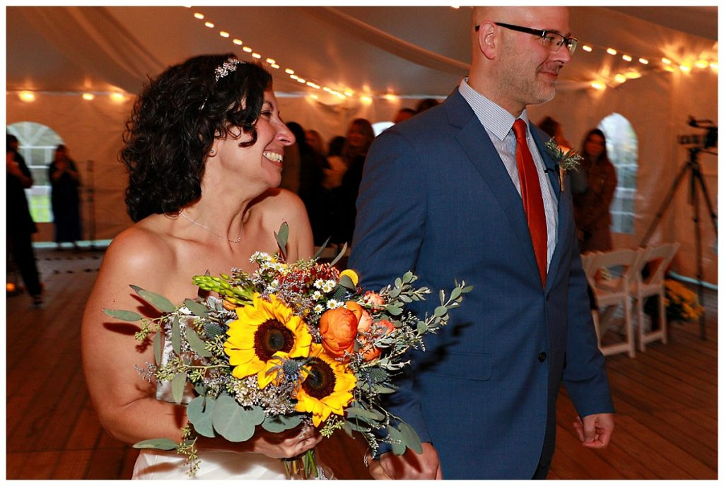 Fall Wedding at Saratoga Mansion