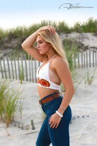 Fire Island NY Senior Portrait Photo