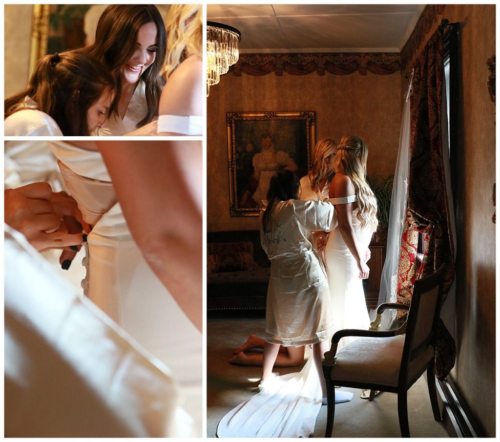 Bridal Preparation Photos