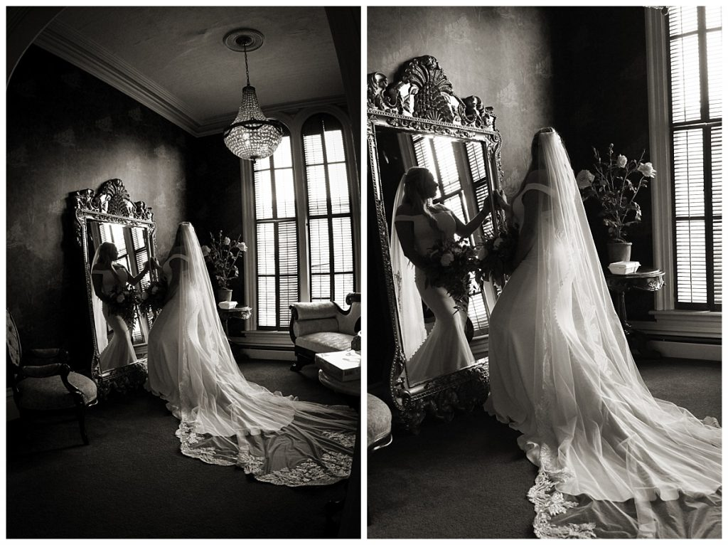 Victorian Mansion Bridal Photos
