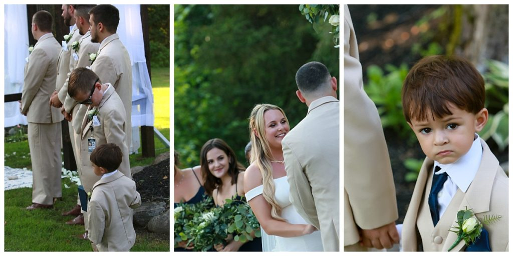Intimate Wedding Ceremony Photos Saratoga NY