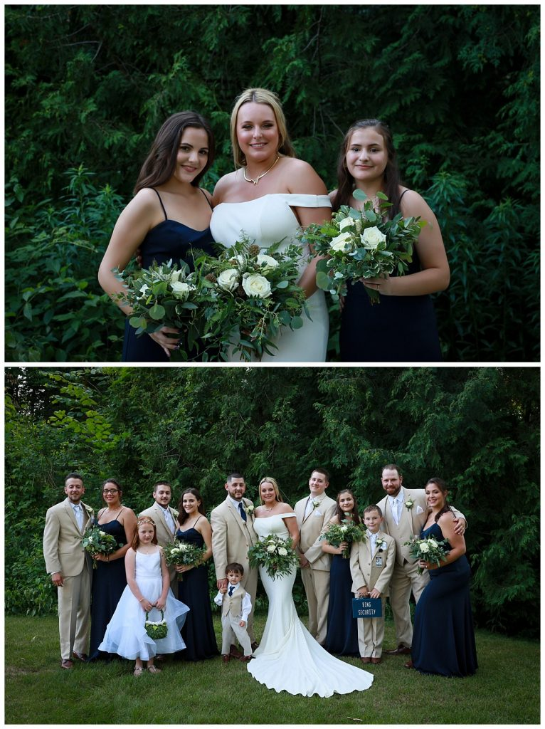 Wedding Party Photos Saratoga NY
