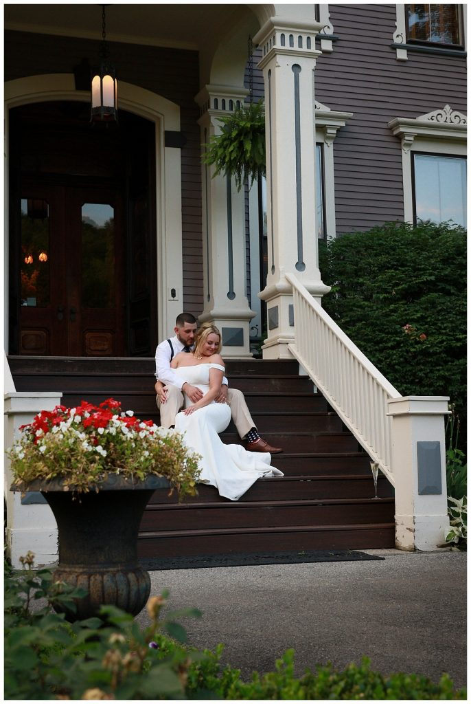Mansion Inn Wedding Photos Saratoga NY