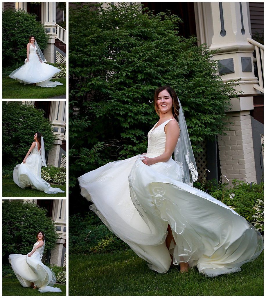 Bridal Portraits Mansion Saratoga NY