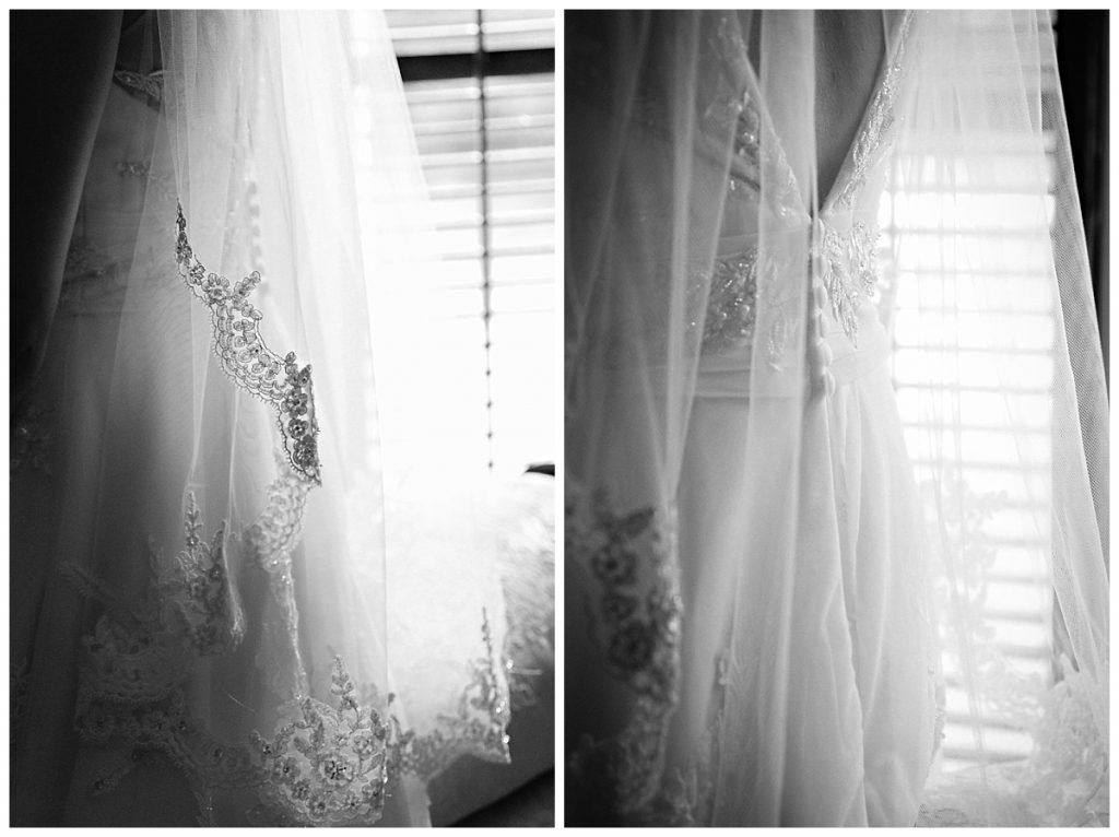 Wedding Dress Detail Photo