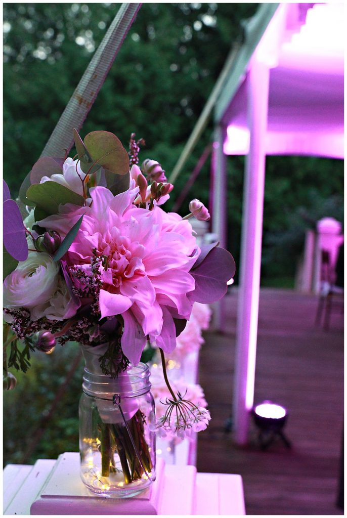 Tented Wedding Decor Photo