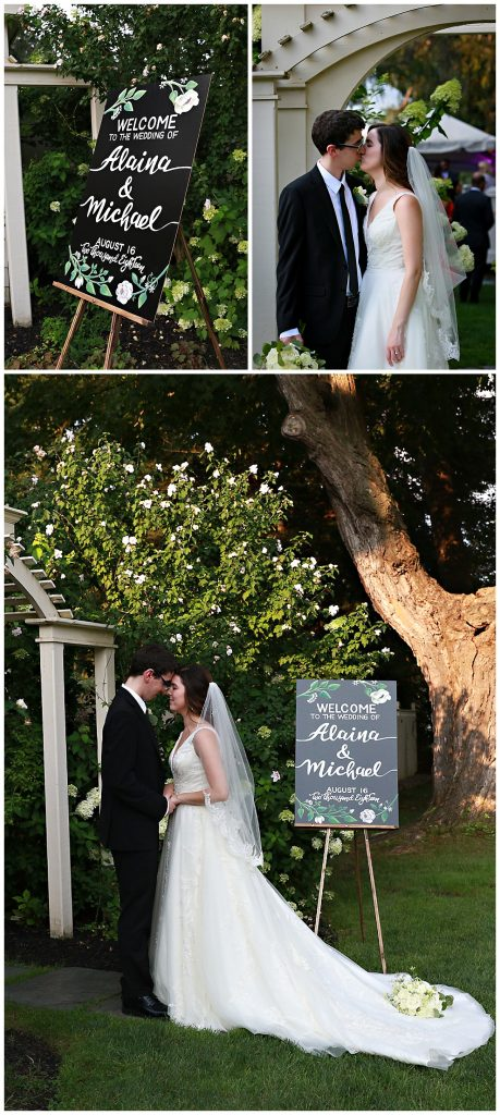 Mansion Saratoga NY Wedding Photos