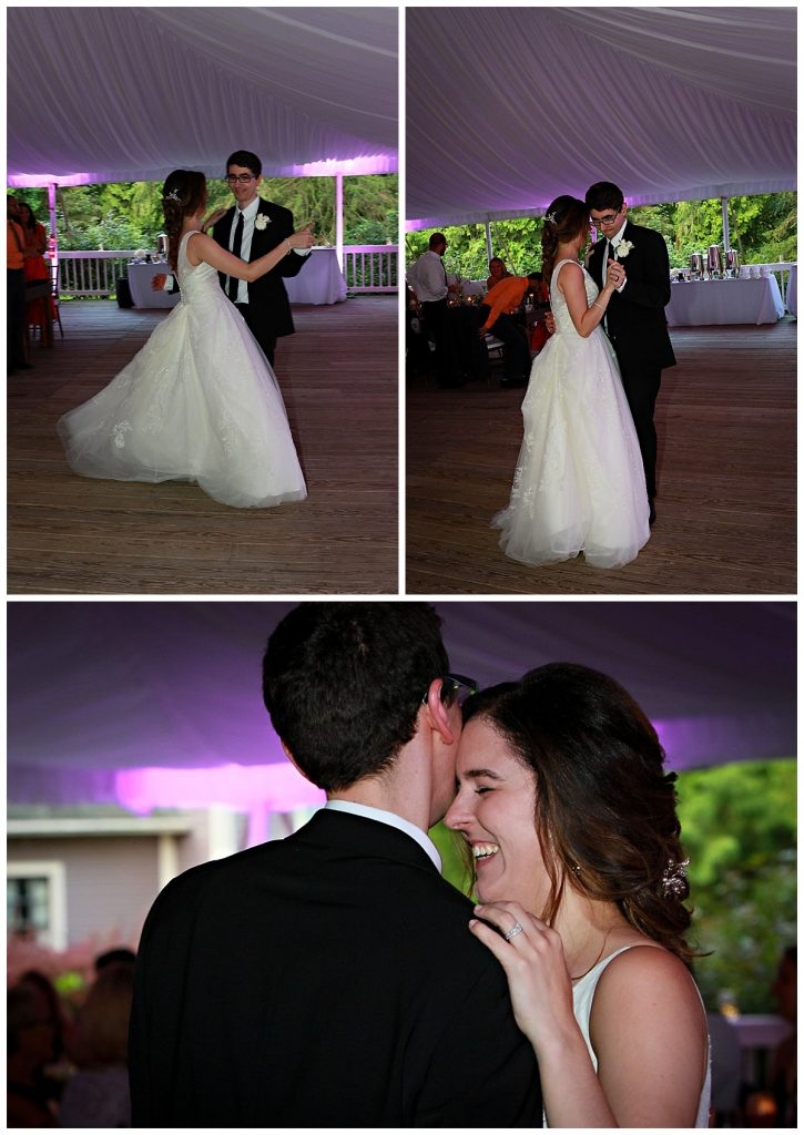 First Dance Photos Saratoga NY