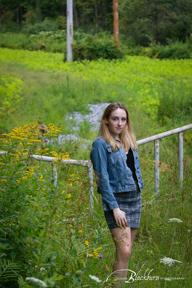 Upstate NY Senior Portraits