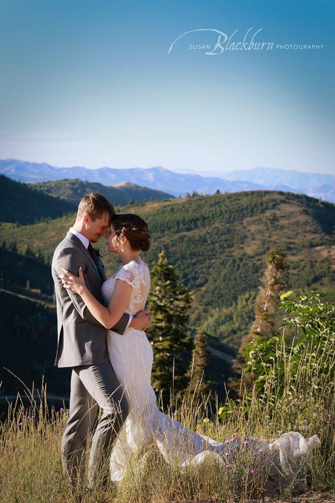 Mountain Destination Wedding Photo Park City